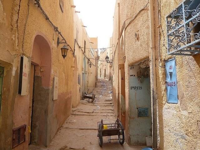 villages de la vallée de M'zab, Algérie