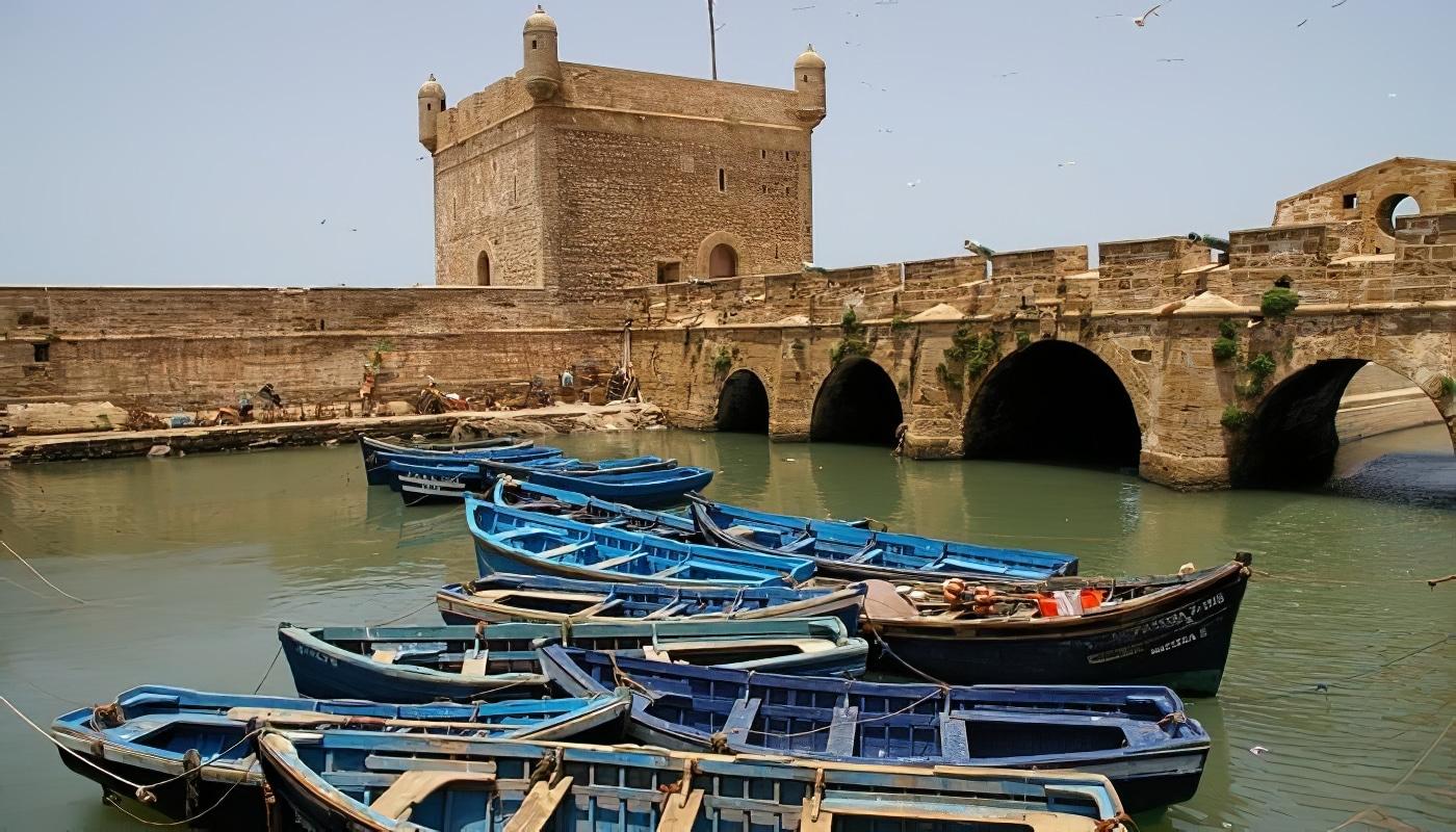Petite visite d'Essaouira au départ de Marrakech