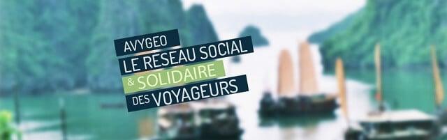 Avygeo, réseau social, voyage