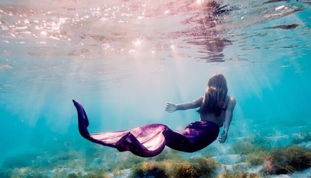 Bahamas Girl: les photos sous l'eau d'une jeune fille aux Bahamas
