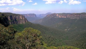 blue mountains, australie, sydney