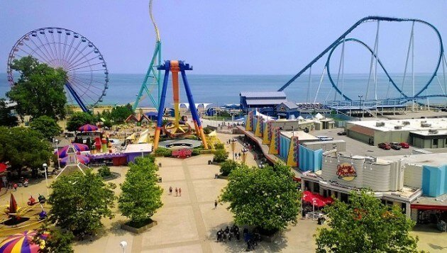 Cedar Point, le parc d'attractions de tous les records