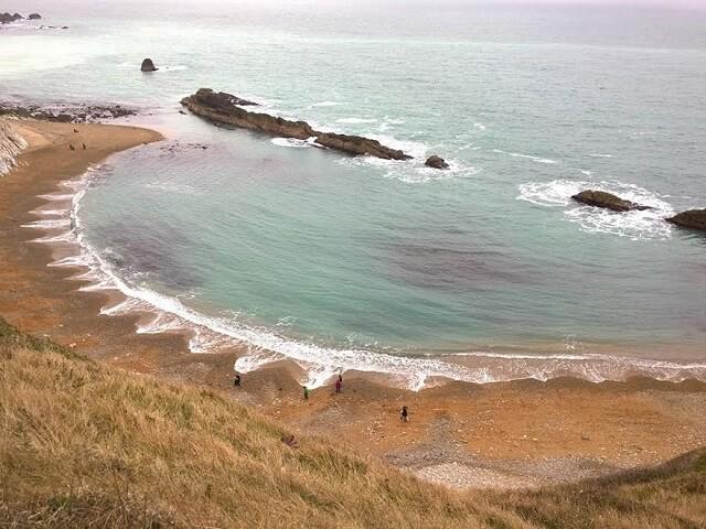 croissants de plage, formes mystérieuses