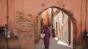 Marrakech, ruelle, centre historique