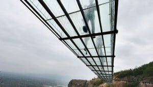 pont en verre plus long du monde, chine