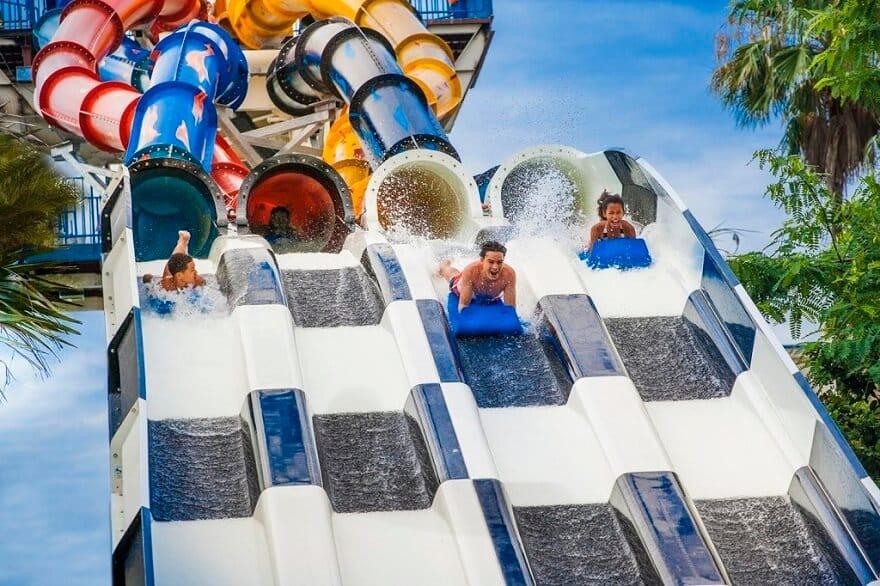 Aqua Drag Racer, Parc Wet'n Wild, Orlando