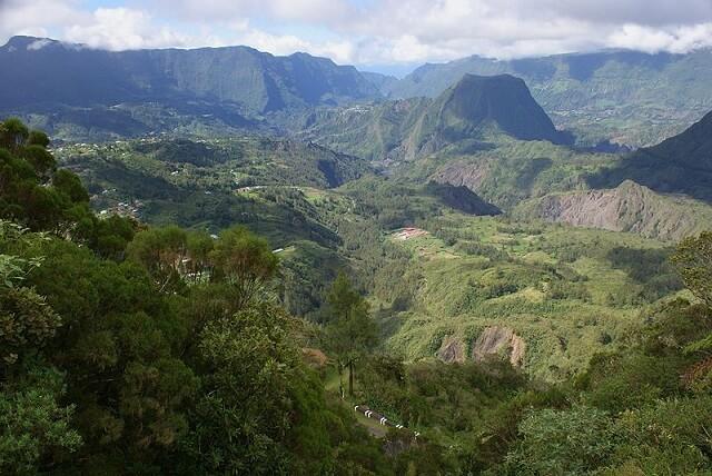 cirque de Salazie, La Réunion