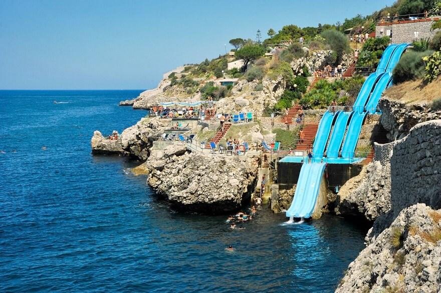 Citta del Mare, Toboggan, Sicile