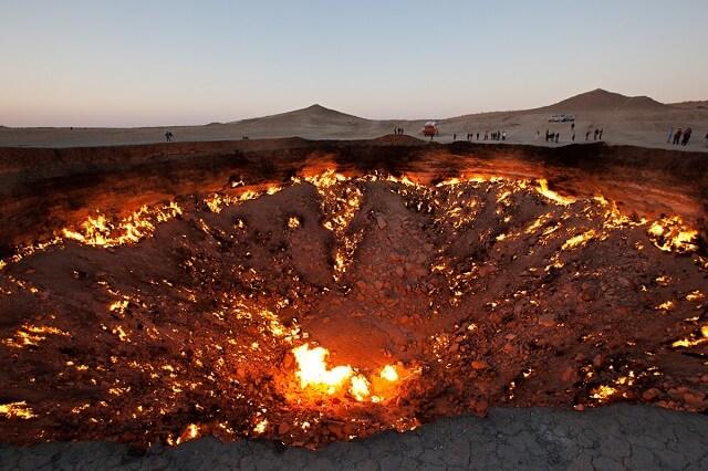 La porte de l 39 enfer au turkm nistan une erreur scientifique - Turkmenistan porte de l enfer ...