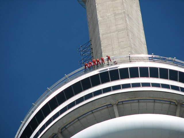 Edge Walk, CN Tower, Toronto