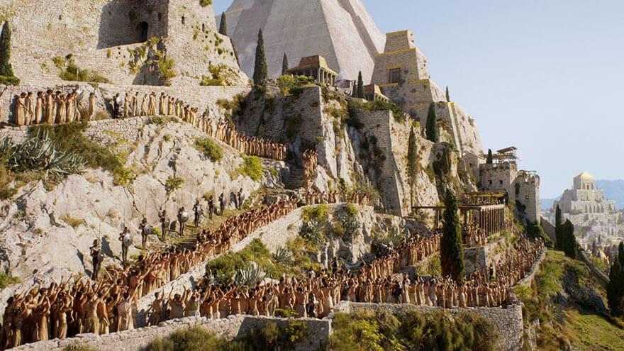 Game of Thrones, scènes de tournage, Croatie, visites
