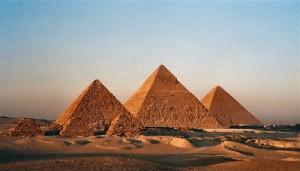 Pyramides, Gizeh, Egypte