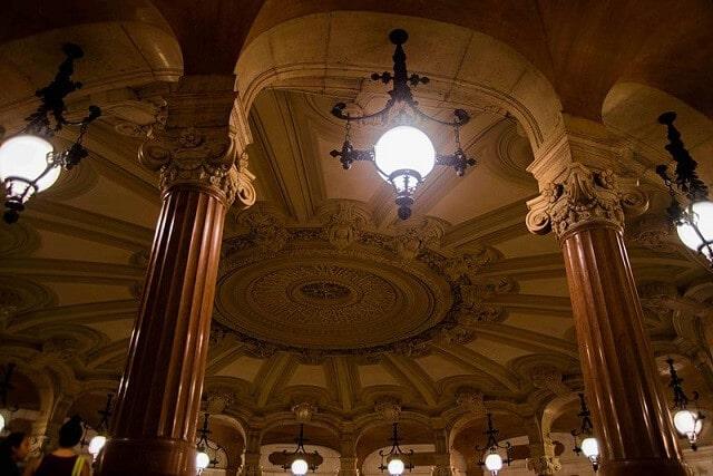 Rotonde des abonnés, visite Opéra Garnier