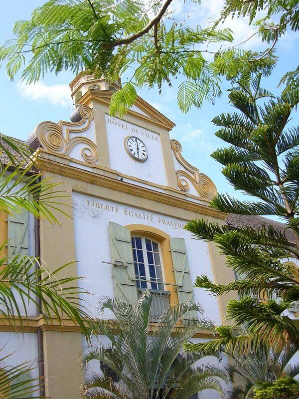 Saint-Pierre, mairie,  La Réunion