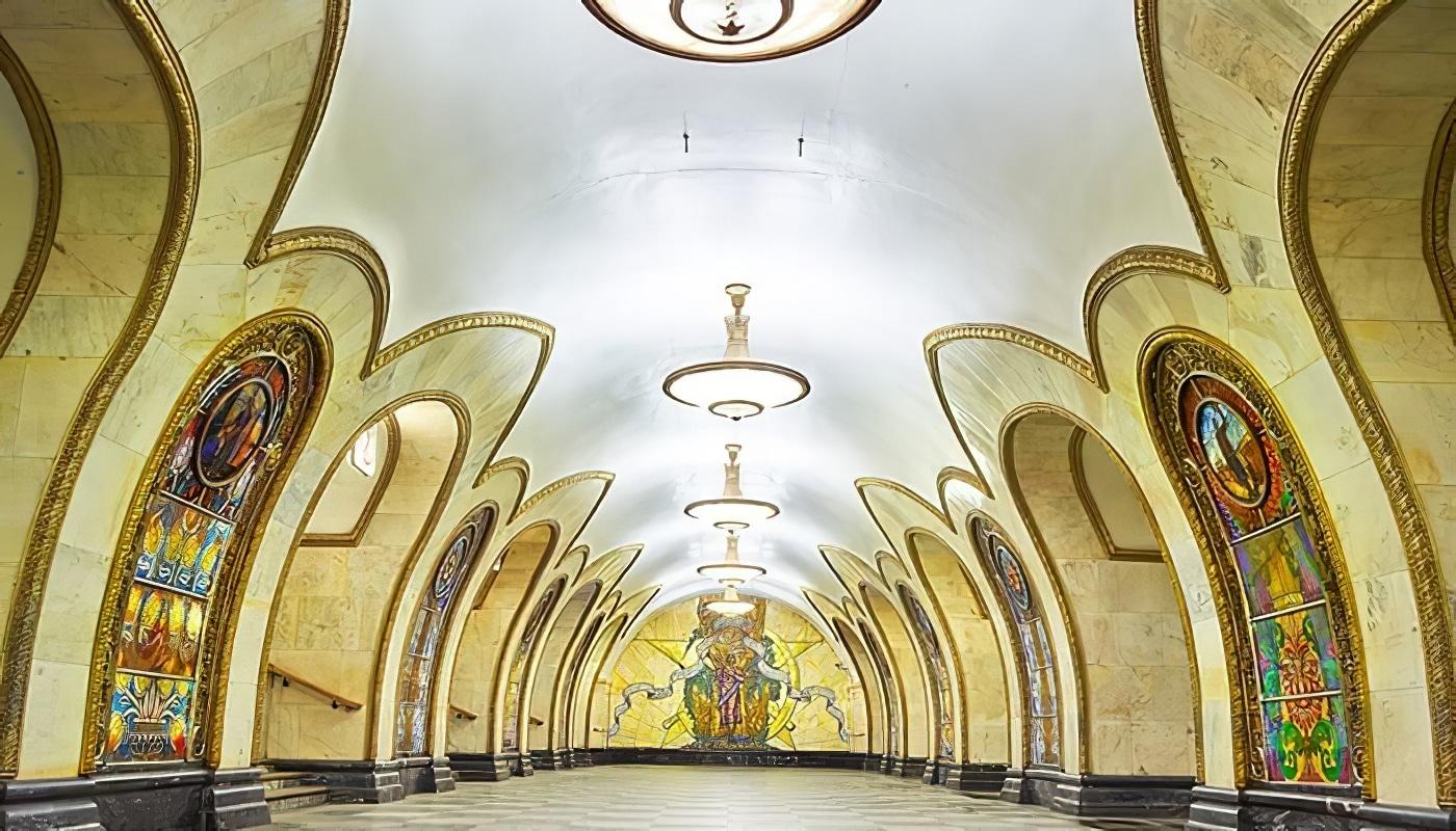 Photos: la beauté des stations de métro de Moscou