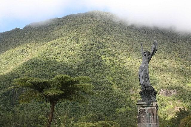 Statue, L'Âme de la France, Hell-Bourg, La Réunion