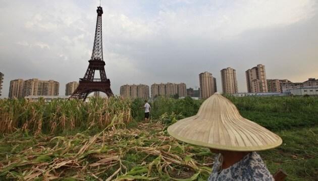 La réplique de Paris en Chine est une ville fantôme