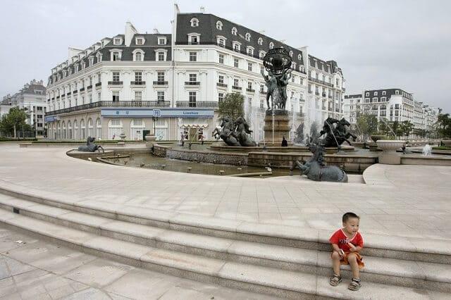 Tiandu Cheng, réplique de Paris en Chine, ville fantôme