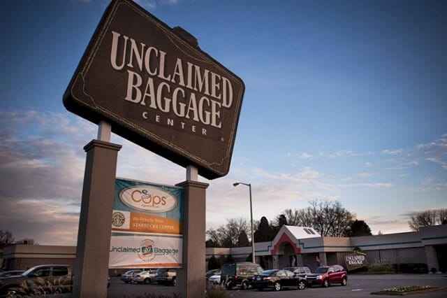 unclaimed baggage center, Alabama
