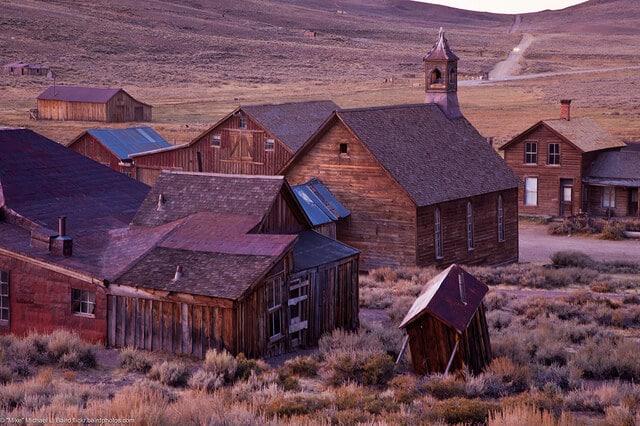 Bodie, ville fantôme, Californie, ruée vers l'or