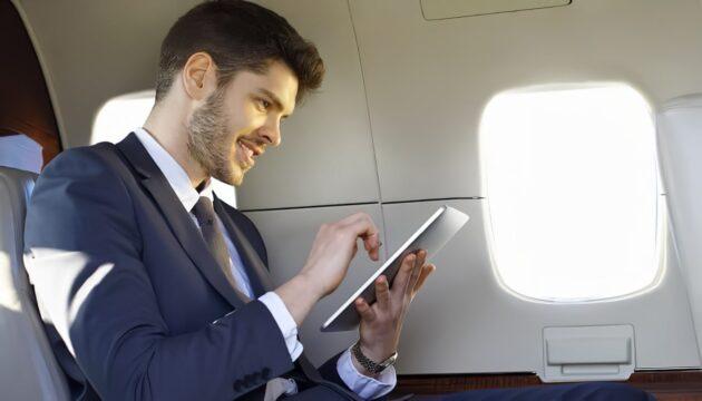 Comment fonctionne le Wi-Fi dans l'avion ?