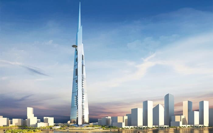 Kingdom Tower, tour la plus haute du monde