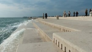 orgues marines, Zadar, Croatie