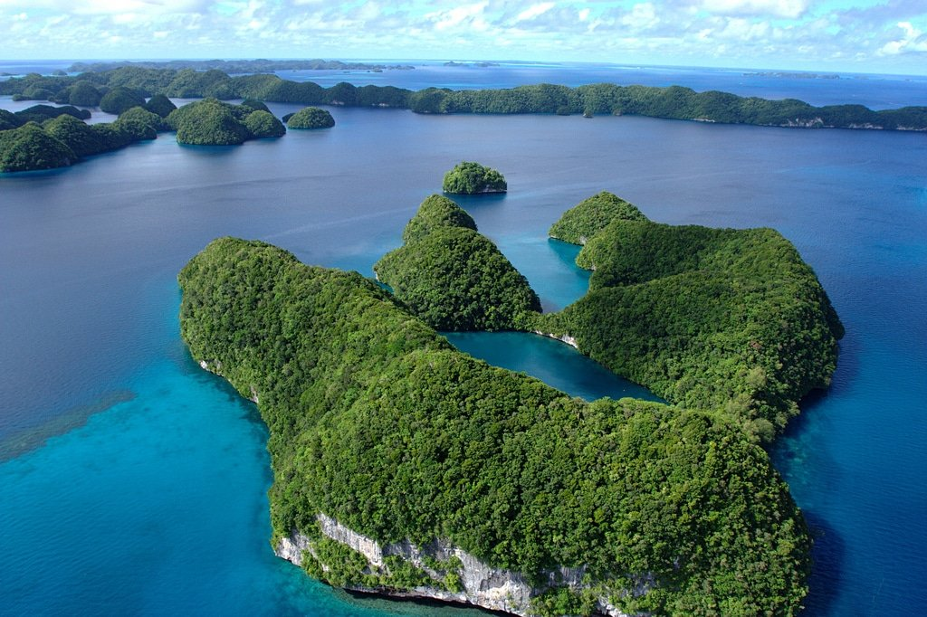 Palau, archipel