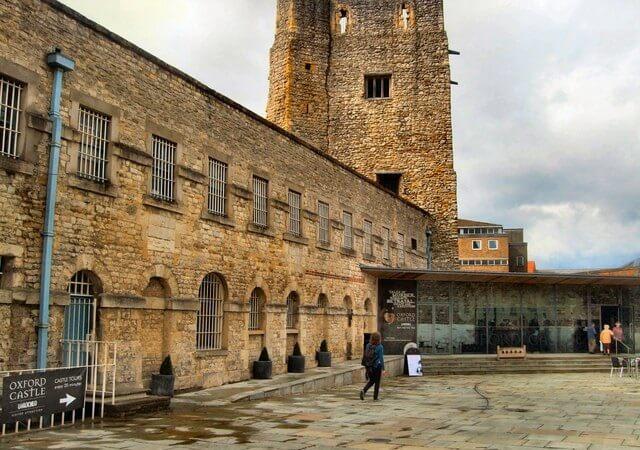 prison, château d'Oxford