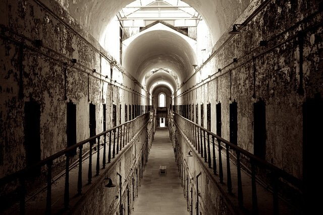 prison, Eastern State Penitentiary