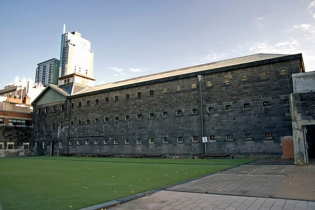 prison, Old Melbourne Gaol