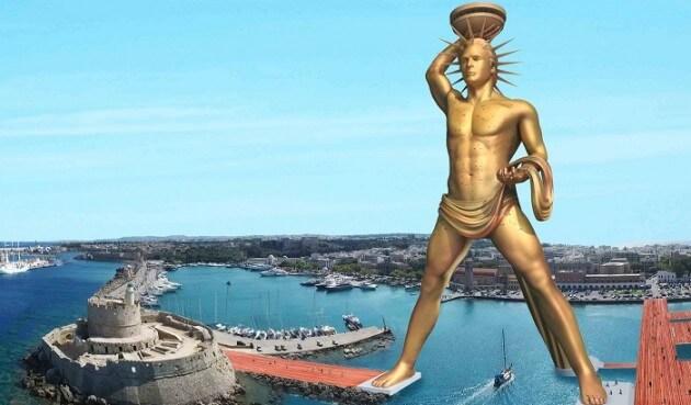 Un gigantesque projet vise à reconstruire le Colosse de Rhodes