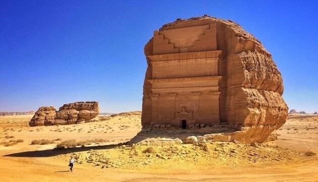 Qasr al Farid, le château solitaire de Madâin Sâlih
