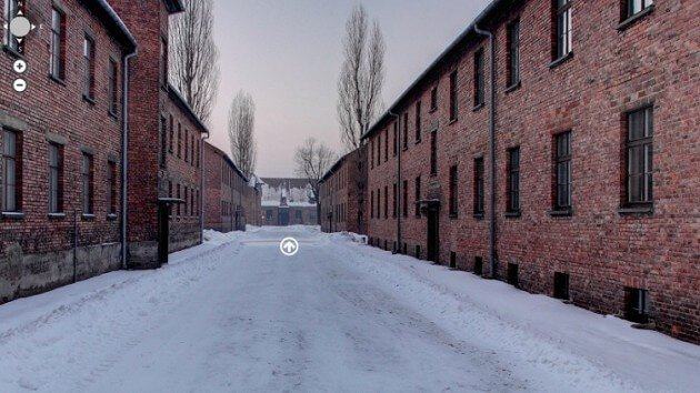 La visite virtuelle d'Auschwitz-Birkenau rendue possible