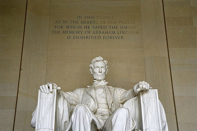 Abraham Lincoln Memorial, Washington