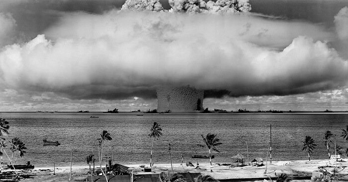 Atoll des Bikini, île dangereuse