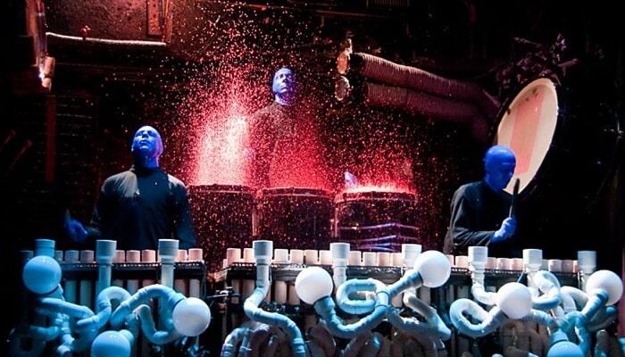 Billets pour voir le show Blue Man Group à Broadway