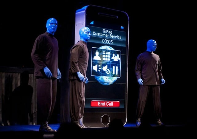 Blue Man Group, show, Broadway