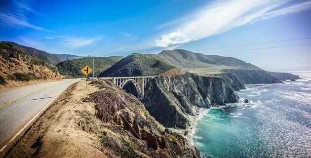 Sur la route… de la California State Route 1