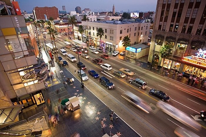 California State Route 1, Hollywood Boulevard, Kodak Theatre