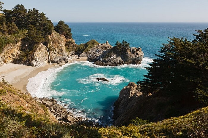 California State Route 1, McWay Falls, Big Sur