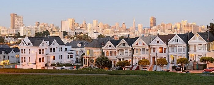 California State Route 1, Painted Ladies, San Francisco