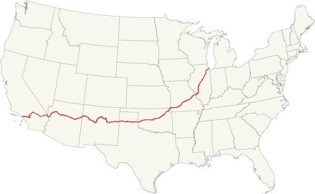 carte Route 66