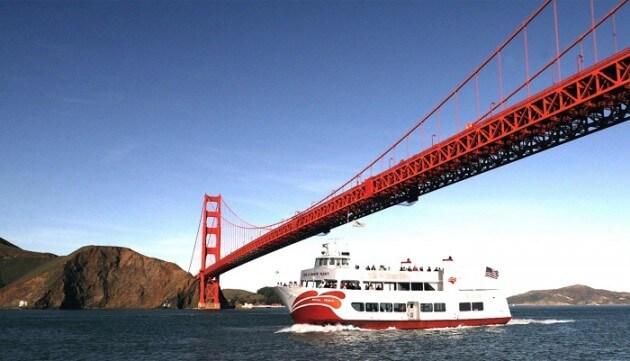 Faire une croisière sur la baie de San Francisco