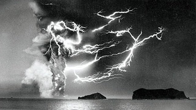 éruption volcan, Surtsey, 1963