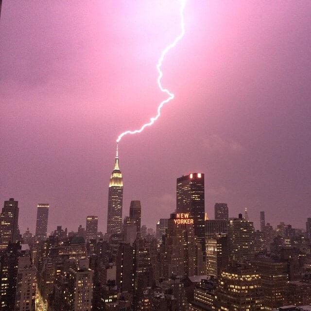 foudre, Empire State Building