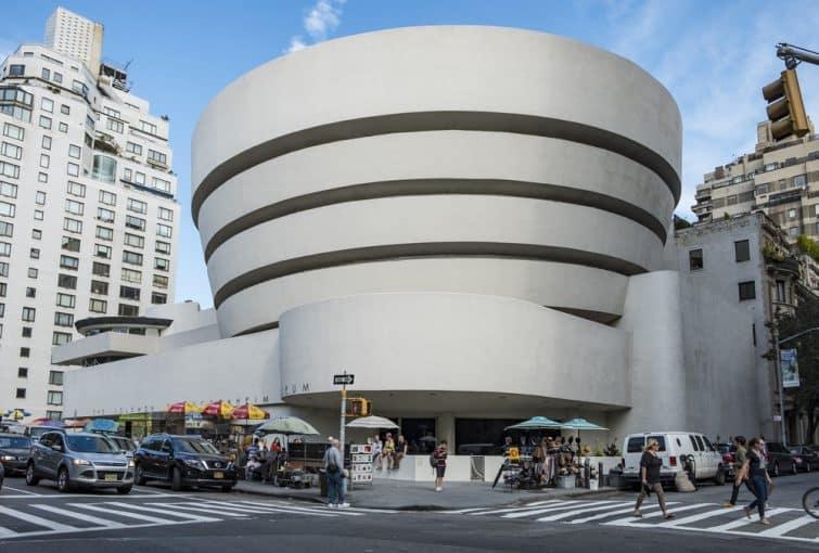 Façade du musée Guggenheim