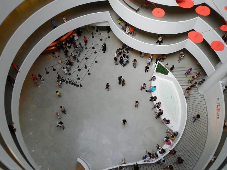 Dans le Guggenheim Ne York