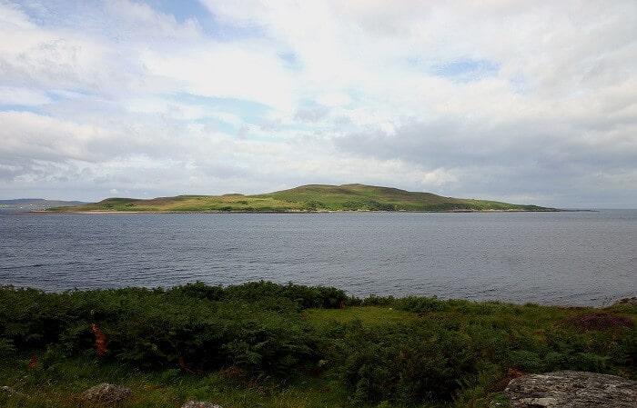Île Gruinard, île dangereuse