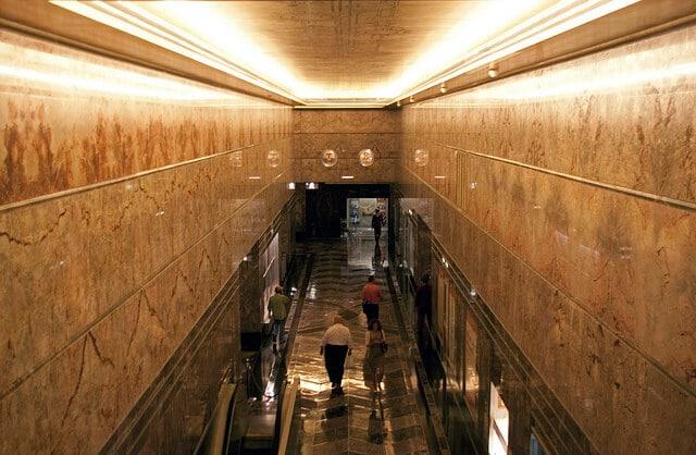 intérieur Empire State Building